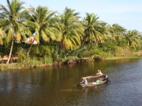 Croisière à la rivière de Thu Bon