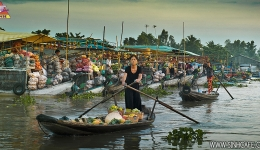 Cao Lanh - Chau Doc - Ha Tien - Can Tho 04 Days